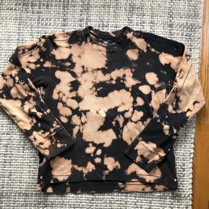 Nike Bleach Tie Dye Thermal Tee